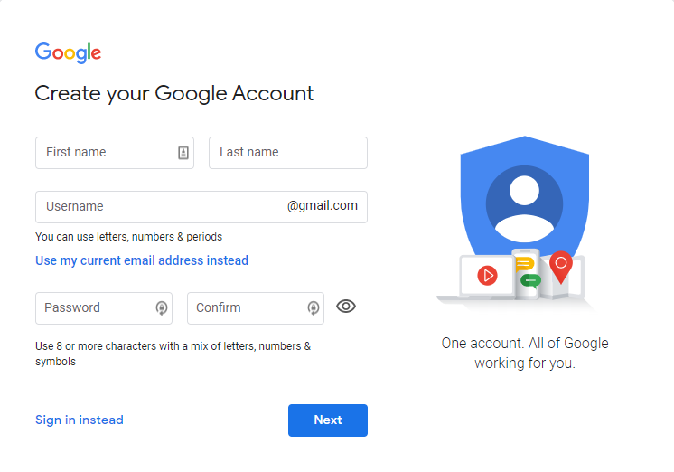Can you create an anonymous Gmail account?
